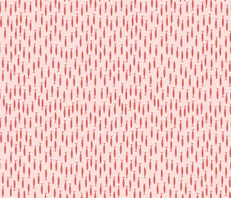 Little fish (pink) fabric by mondaland on Spoonflower - custom fabric