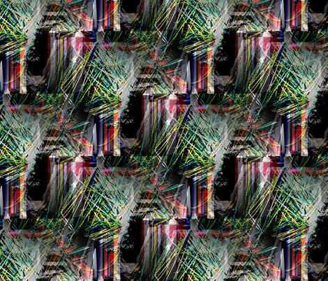 bike_yarn fabric by rokinronda on Spoonflower - custom fabric