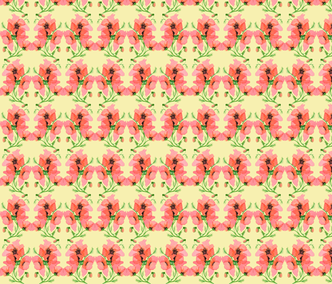 Poppy fabric by amyelyse on Spoonflower - custom fabric