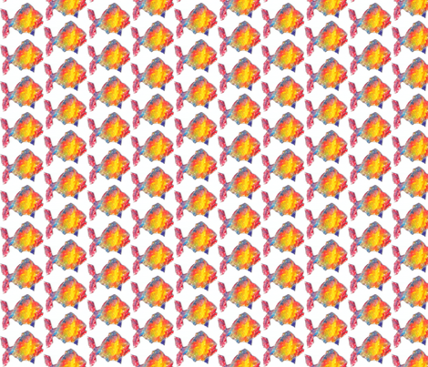 Something fishy fabric by anniedeb on Spoonflower - custom fabric