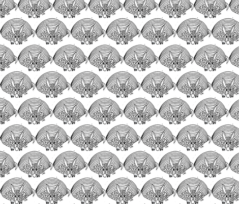 Armadillo fabric by anniedeb on Spoonflower - custom fabric
