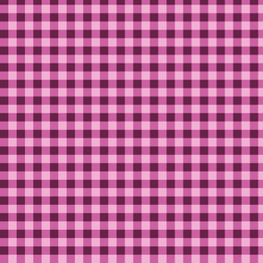 Plaid pink and purple