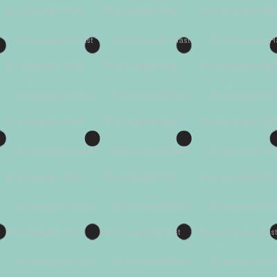 Damask_black_dots_on_turquoise