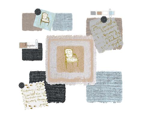 Inspiration Board fabric by karenharveycox on Spoonflower - custom fabric