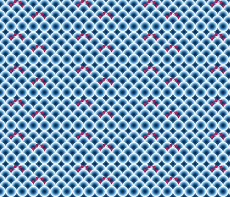 poisson chinois fabric by nadja_petremand on Spoonflower - custom fabric