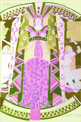 Deco Mythology- Lavender