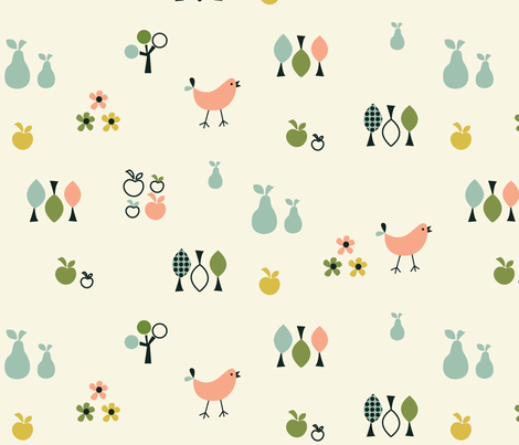 Orchard 04 fabric by amel24 on Spoonflower - custom fabric