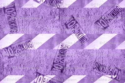 NO PARKING (Purple)