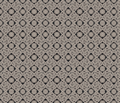crazy_weave silver fabric by glimmericks on Spoonflower - custom fabric