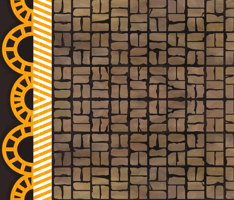 Urban Scallop fabric by labrattish on Spoonflower - custom fabric
