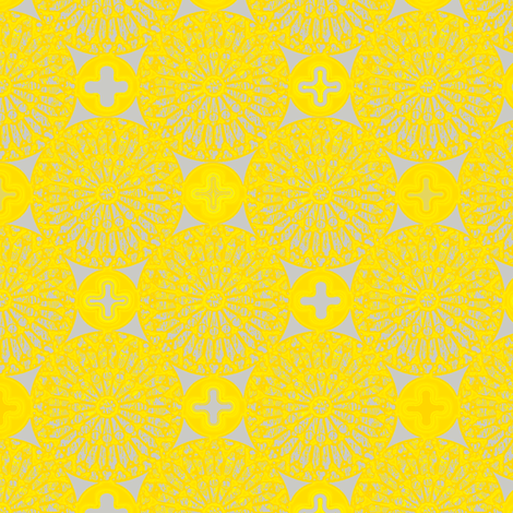 ©2012 the rose window - juicy lemons fabric by glimmericks on Spoonflower - custom fabric