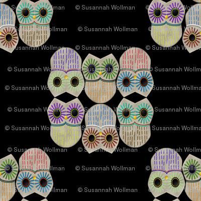 embroideredowlsblack