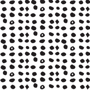 Edgy Dots Dark by Hahma