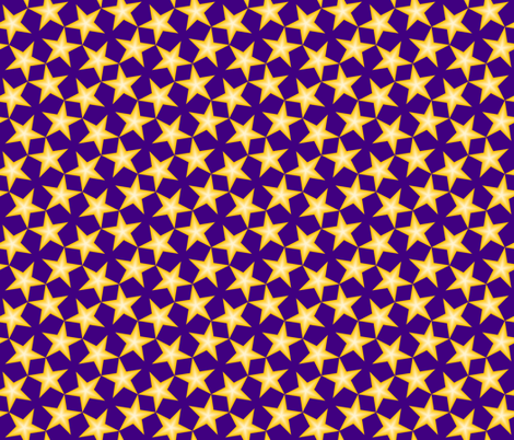 S43 CV1 gradient stars fabric by sef on Spoonflower - custom fabric