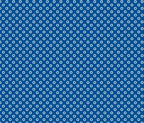 pois bleu fond bleu S fabric by nadja_petremand on Spoonflower - custom fabric