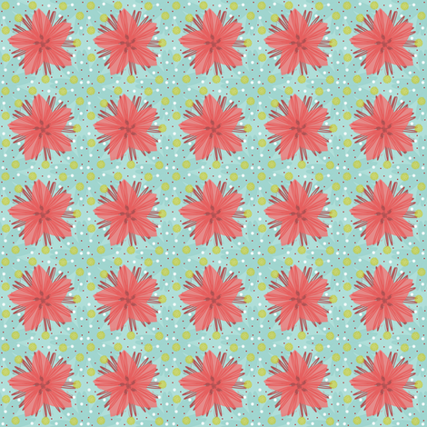 Daisy Susan fabric by brainsarepretty on Spoonflower - custom fabric