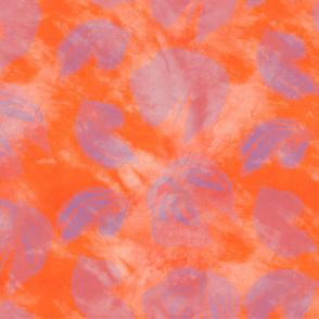 Butterflies Orange Tangerine Lilac
