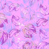 Butterflies  Lavender Pink
