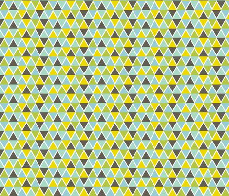 Triangle Mosaic fabric by jessicabonilla on Spoonflower - custom fabric