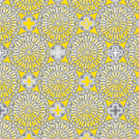 ©2012 therosewindow - sunshine fabric by glimmericks on Spoonflower - custom fabric