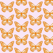 Butterflies - Orange Marmalade