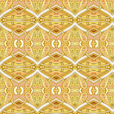 Under the Summer Sun fabric by edsel2084 on Spoonflower - custom fabric