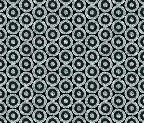 Beaded circles fabric by meredithjean on Spoonflower - custom fabric