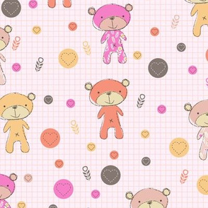 Baby Bear (pink)