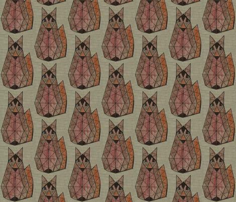 Foxy Fox fabric by anniedeb on Spoonflower - custom fabric