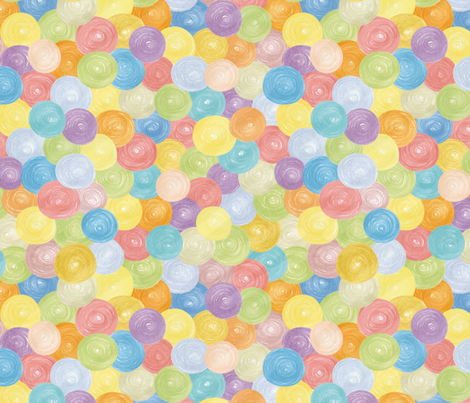 Candy Bubbles fabric by evita on Spoonflower - custom fabric