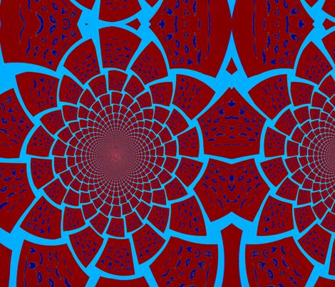 karisplace_com's facial hair bonanza!!red blue fabric by kari's_place on Spoonflower - custom fabric