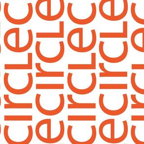 Small Words—orange