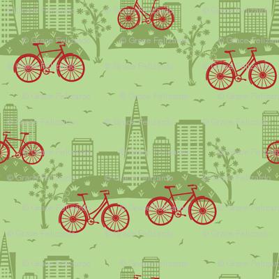 City Bikes Green
