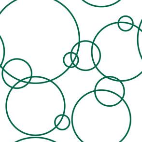Large Circles—green
