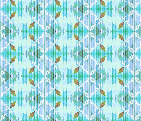 argylest sky dancer fabric by glimmericks on Spoonflower - custom fabric
