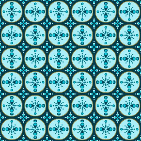 Ornamental Disks fabric by siya on Spoonflower - custom fabric