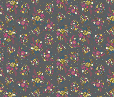 WashiMiniFloral_copy fabric by iheartlinen on Spoonflower - custom fabric