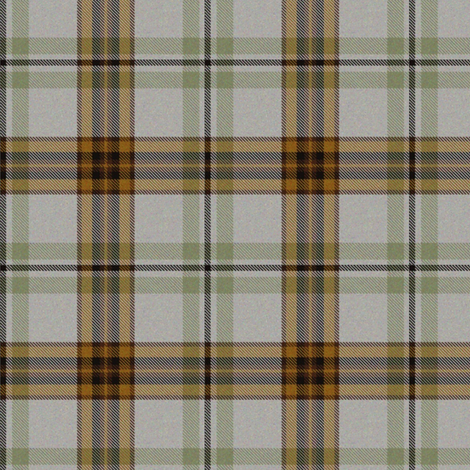 Moss and Tan Tartan fabric by eclectic_house on Spoonflower - custom fabric