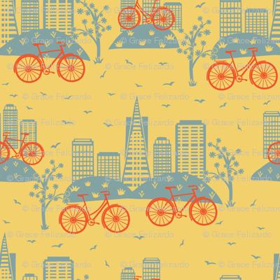 City Bikes Yellow (Small)