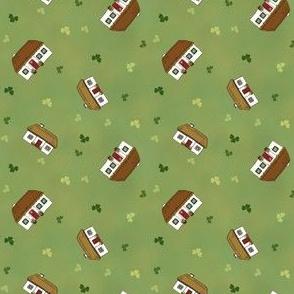 Tumbling Irish Cottages