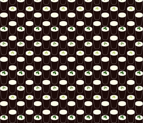 drown_your_shamrock fabric by cherryandcinnamon on Spoonflower - custom fabric