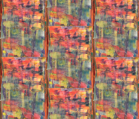 Watercolor rainbow fabric by smint on Spoonflower - custom fabric