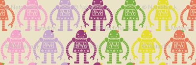 Rows of Robots - small