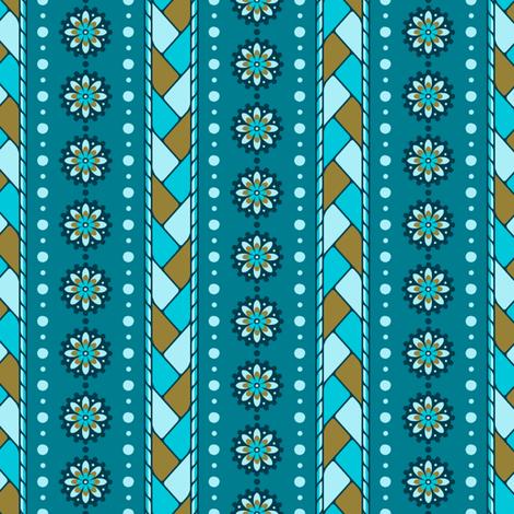 Braided Stripe fabric by siya on Spoonflower - custom fabric