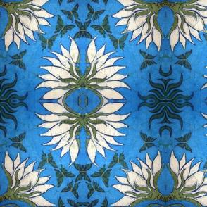 lotus, variation mustache