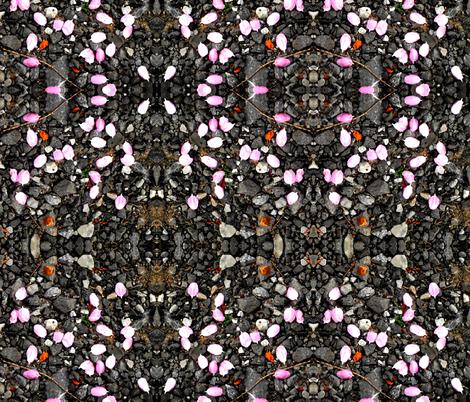 petal drop fabric by anniedeb on Spoonflower - custom fabric