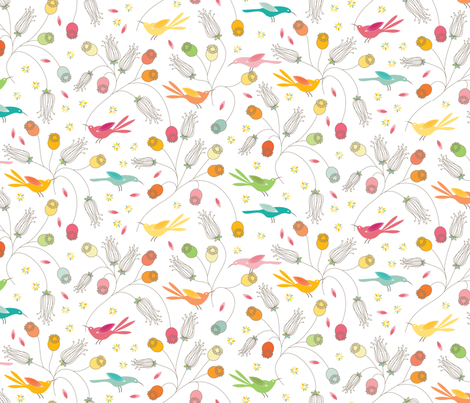 Pods fabric by kayajoy on Spoonflower - custom fabric