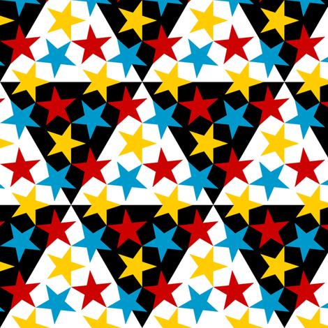 U53 V1 triangle circus fabric by sef on Spoonflower - custom fabric