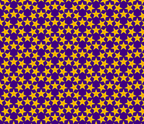 U53 V1 stars in 3 fabric by sef on Spoonflower - custom fabric