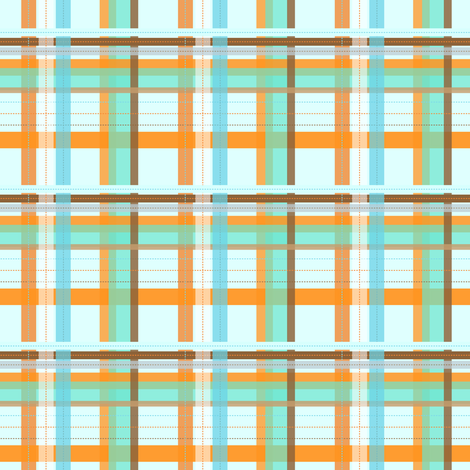 Castle Plaid fabric by meticulous_sarah on Spoonflower - custom fabric